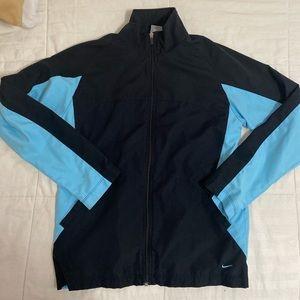 Blue Nike Windbreaker Track Jacket
